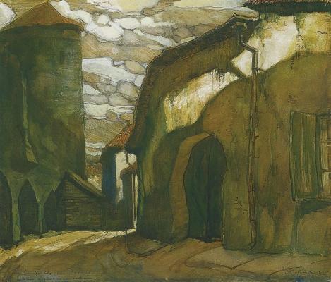 Nicholas Roerich. Medieval Revel