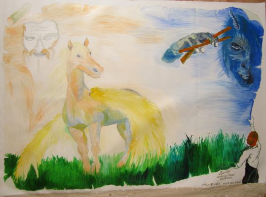 "Дмитрий Юрьевич Буянов. The Allegory Of ""Pegasus"""