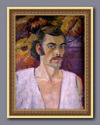 Александр 3иновьев. Автопортрет