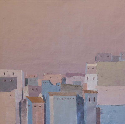 "Daniel Wenger. ""Lilac fog over the city"" Series ""Not Kandinsky"""