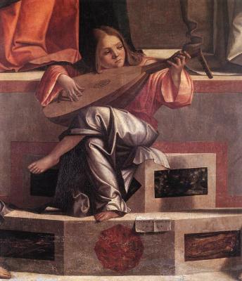 Vittore Carpaccio. Presentation of Jesus in the temple