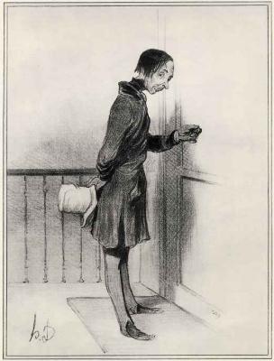Honore Daumier. Beggar