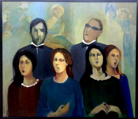 Anna Sukiasyan. Chorus of blind
