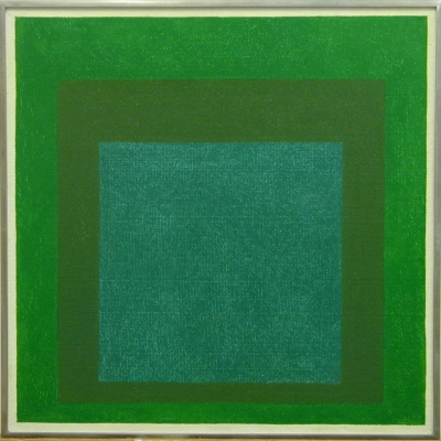 Yosef albers. The dedication of the square