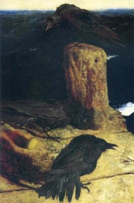 Jamie Wyeth. A Seagull egg
