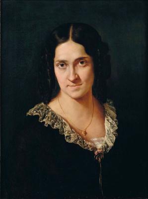 Portrait of singer Matilda Juva-Branca