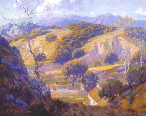 Морис Браун. Ферма в долине Калифорнии