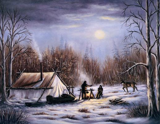 Охотники ночью