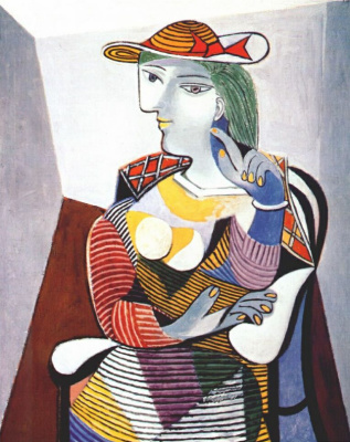 Seated woman (Portrait of Marie-Therese)
