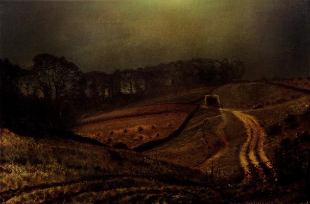 John Atkinson Grimshaw. Road