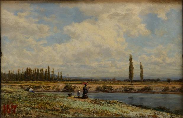 Alexey Petrovich Bogolyubov. Vichy. Wormwood Shore Noon