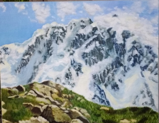 Evgenia Gennadievna Prokhorova. The mountains