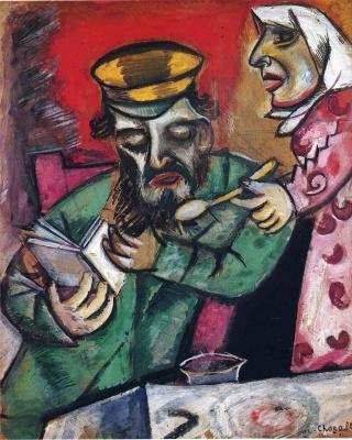 Marc Chagall. Spoon milk