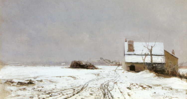 Иван Павлович Похитонов. Winter landscape