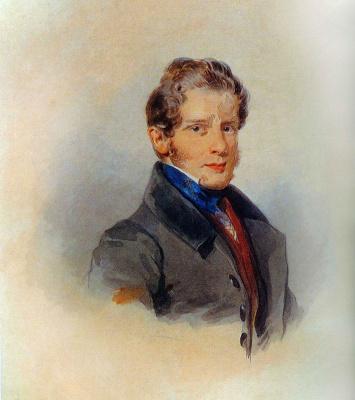 Петр Федорович Соколов. Алексей Демидов 1820-е
