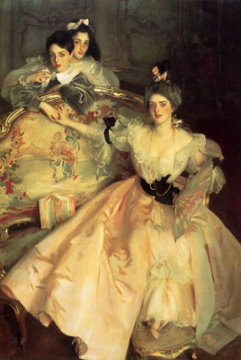 John Singer Sargent. Mrs. Carl Meyer , later lady Meyer , and her two children
