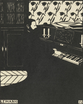 Felix Vallotton. Piano