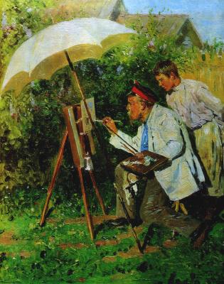 Vladimir Egorovich Makovsky. Amateur