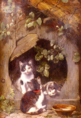 Julius Adam. Kittens