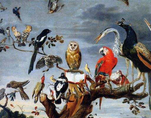 Франс Снейдерс. Птицы