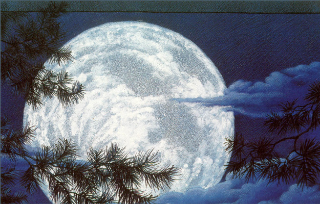 Кристофер Каньон. Луна