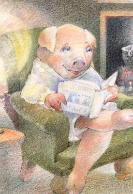 David Jorgensen. Pig reads
