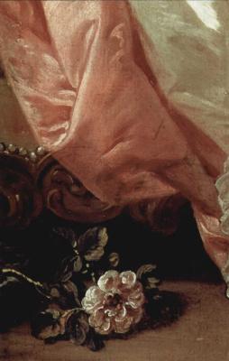 Francois Boucher. Odalisque. Detail