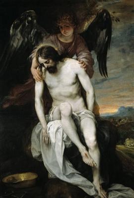 Алонсо Кано. Христос, поддерживаемый ангелом