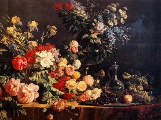 Виктор Шилз. Цветы и фрукты