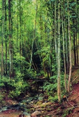 Ivan Ivanovich Shishkin. Forest-aspen