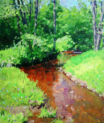 Михаил Рудник. Forest stream