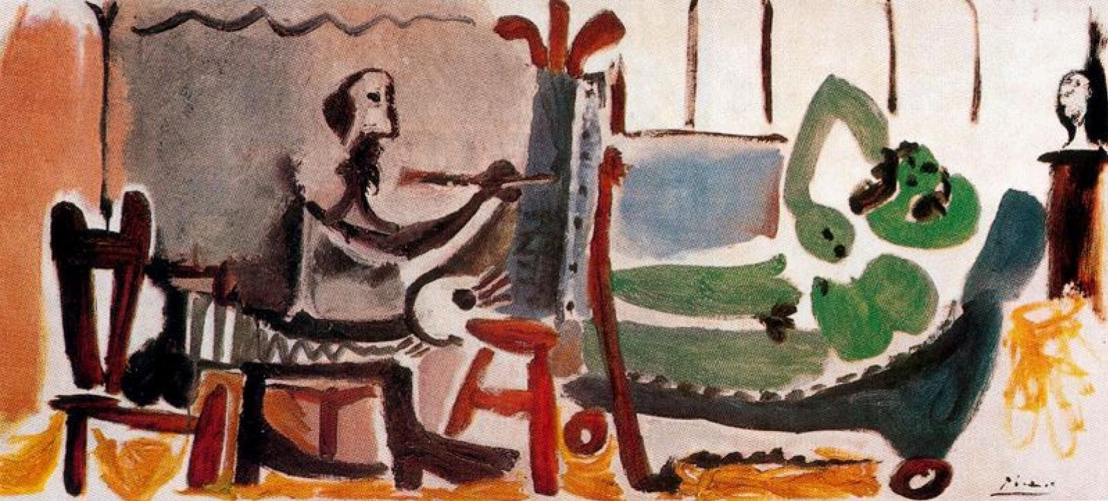Пабло Пикассо. Художник и модель