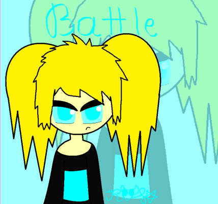 Cat The killer. Battle-teen(based by butterpain75)