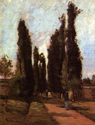 Camille Pissarro. Road