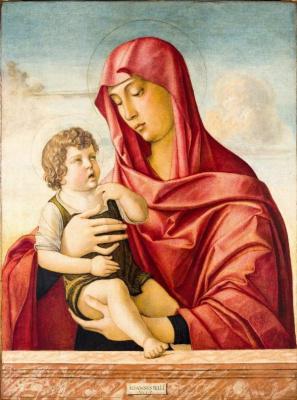 Giovanni Bellini. Madonna and Child