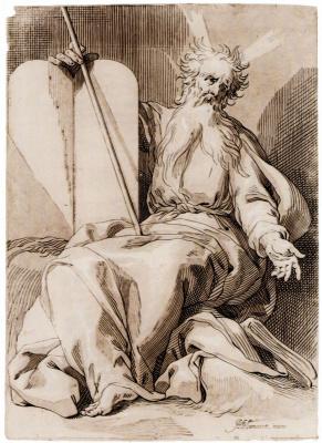 Абрахам Блумарт. Моисей