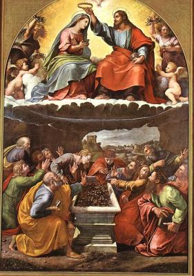 Джулио Романо. Коронация Девы Марии