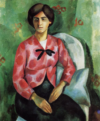 Robert Rafailovich Falk. Portrait Of Elizabeth Sergeevny Potekhina