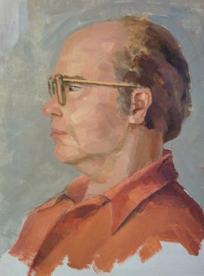 Dmitry Arkadevich Laptev. Father portrait