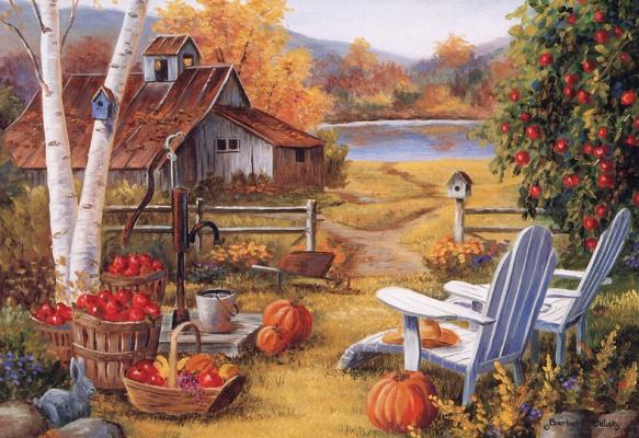 Barbara Feliski. The barn