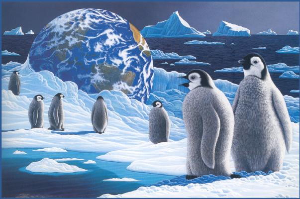 Уильям Шиммель. Дети антарктики