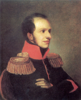 Orest Adamovich Kiprensky. Portrait of Prince George Petrovich Oldenburgsky