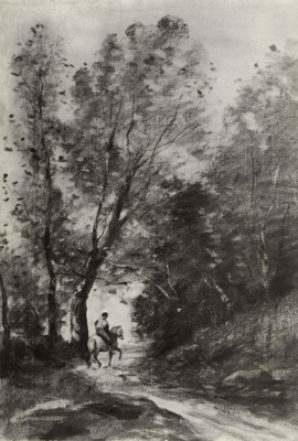 Camille Corot. Forest in Kubron