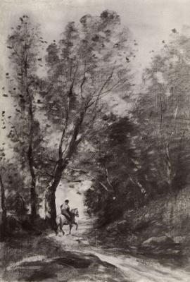 Камиль Коро. Лес в Куброне