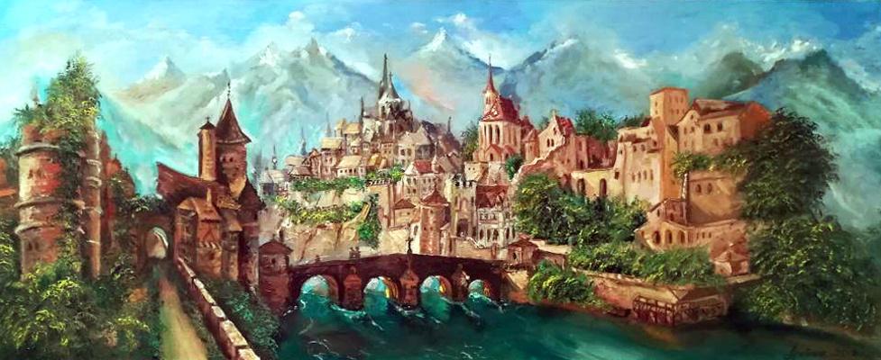 Olga Yuryevna Serebrova-Artes. City