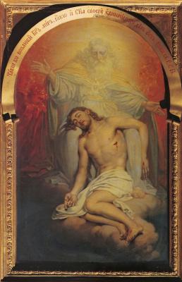 Владимир Лукич Боровиковский. Бог Отец, созерцающий мертвого Христа