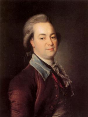 Dmitry Grigorievich Levitsky. Portrait Of Alexander Vasilyevich Khrapovitsky