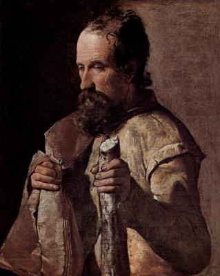 Georges de La Tour. The Apostle James The Son Of Alphaeus