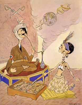 Кукрыниксы. Арапские сказки немецкого верховного командования, или тысяча и одна ложь