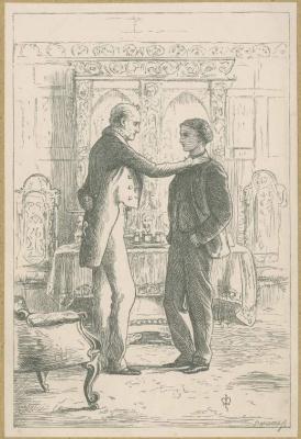 John Everett Millais. Sir peregrine and his heir